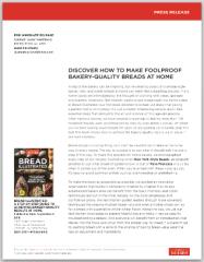 Bread Illustrated Press Release